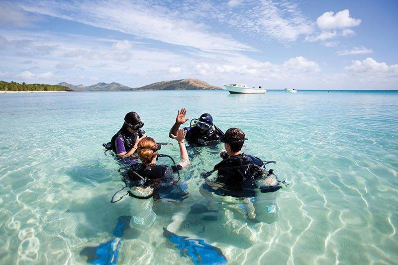 Fiji Diver's Dream