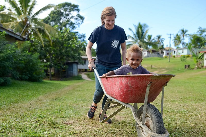 Intro to Community Service in Fiji